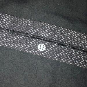 Lululemon Headband Black Patterned